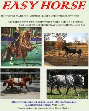EASY HORSE COVER AFRIKAANS