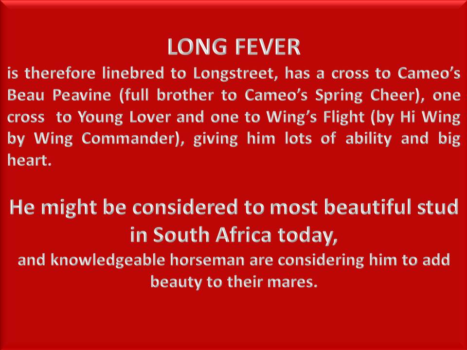 LONG FEVER AD 5